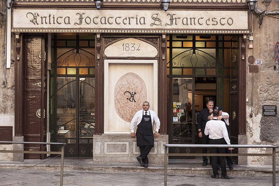 Antica Focacceria San Francesco, locale storico di Palermo ...