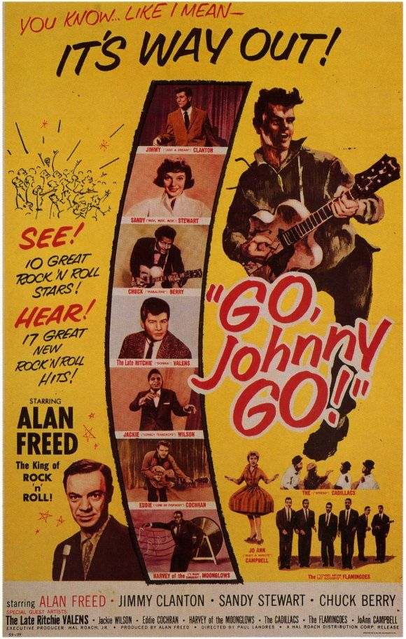 Image result for go johnny go movie poster