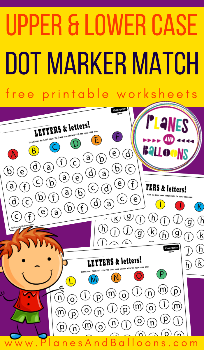 Matching Letters With Dot Markers Dot Markers Free Alphabet Printables Lowercase A [ 1200 x 700 Pixel ]