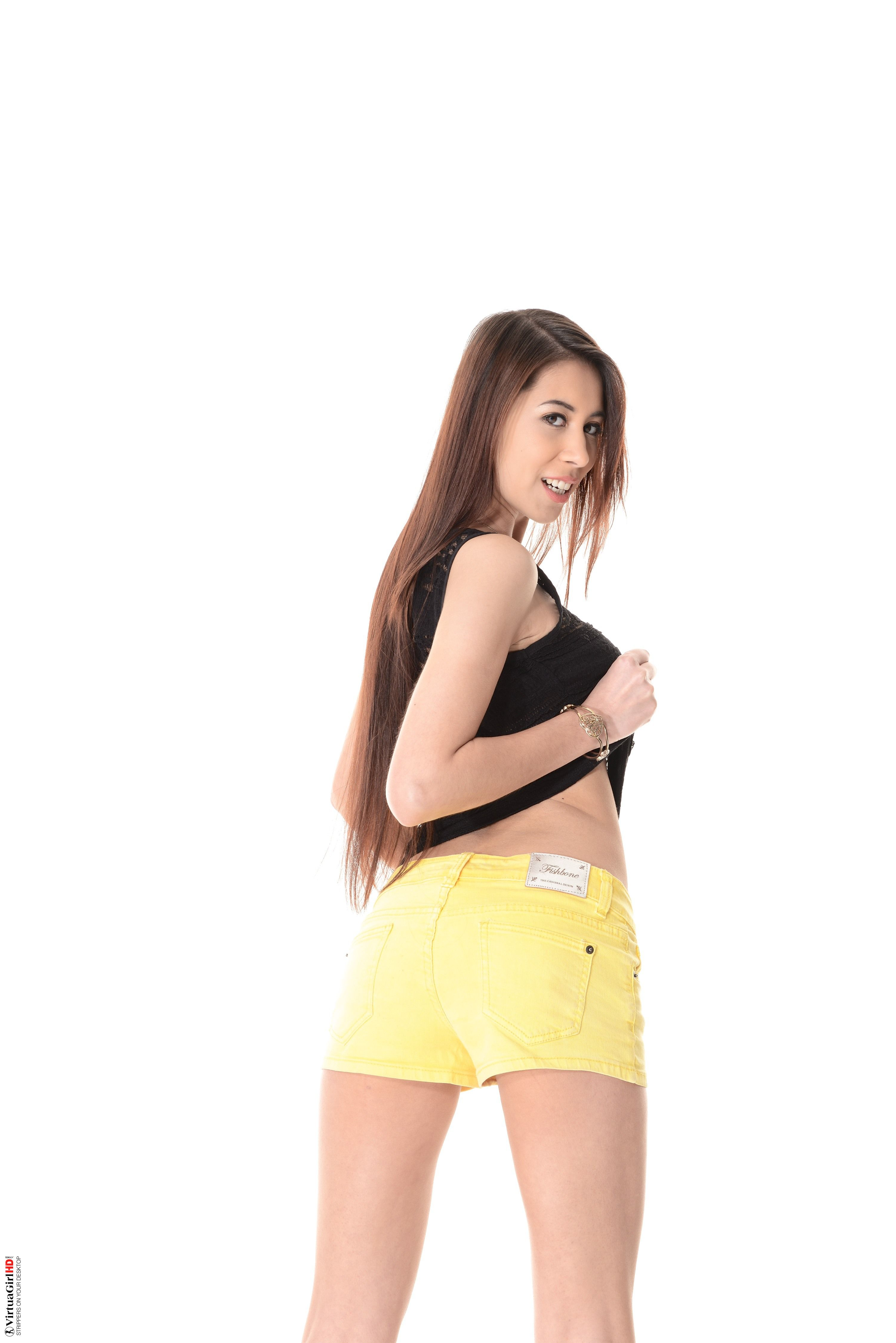 Paula shy young teen are