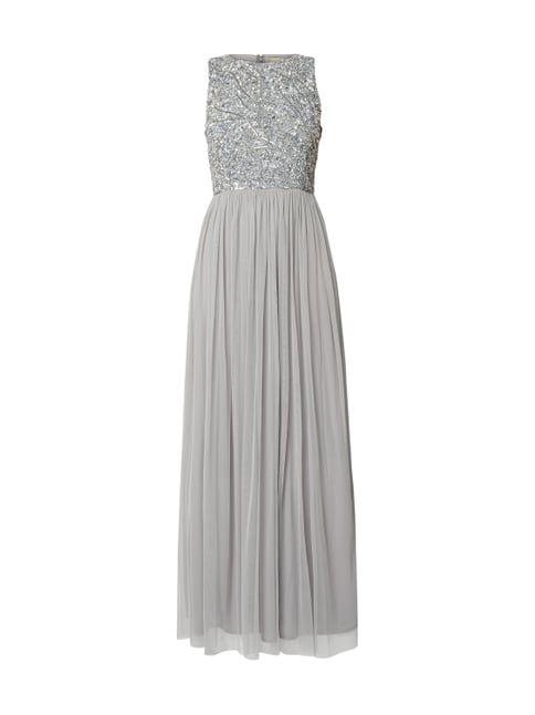 Abendkleider Grau - Valentins Day | Abendkleid, Elegante ...