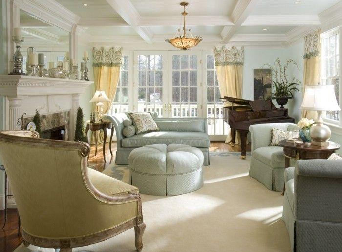 nice einrichtung landhausstil französischer stil wohnzimmer Check