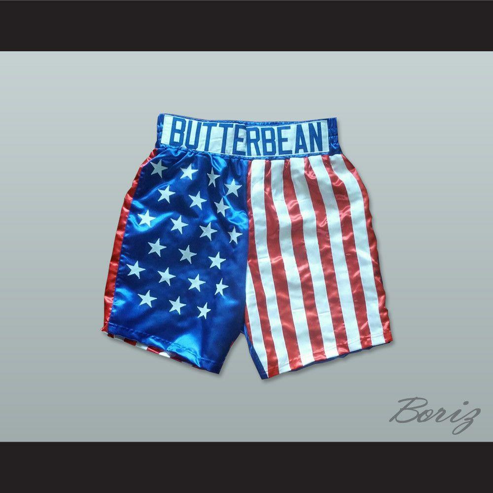 Eric Butterbean Esch American Flag Boxing Shorts High Quality Satin Shortsdrawstring Waiststitch Sewn Graphicsall Sizes A Boxing Shorts American Flag Shorts