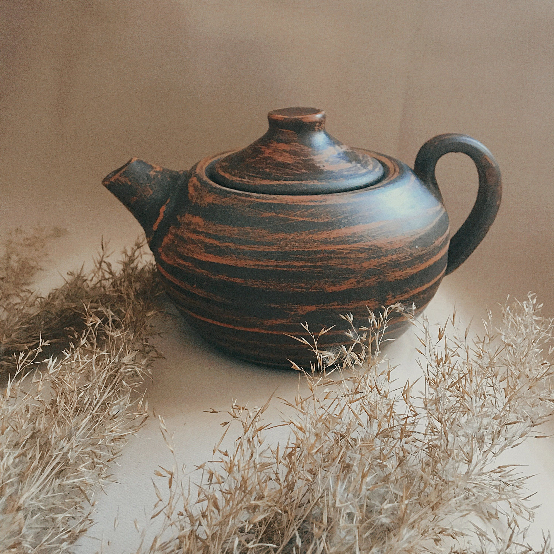 Pottery Teapot Clay Teapot Ceramic Teapot Pottery Kettle Clay Kettle In 2020 Ceramic Teapots Pottery Teapots Pottery Tea Pot