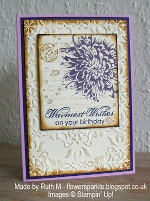 Flower Sparkle: Blooming With Kindness Warmest Wishes Birthday card