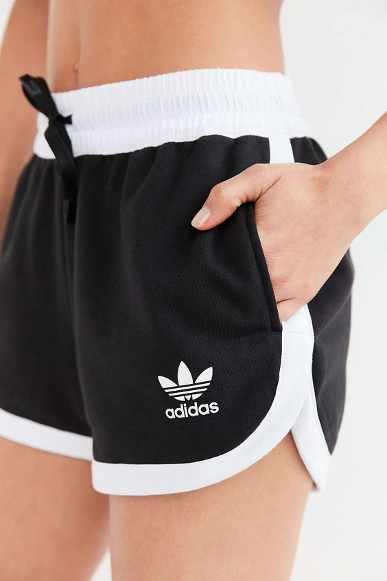 adidas sports bra and shorts