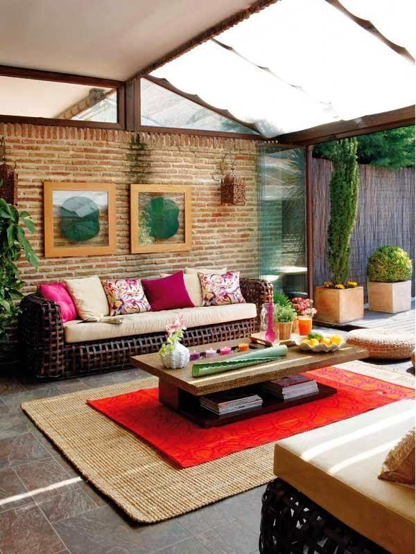 Dekor és Mentha: Egy téliesített nyári terasz