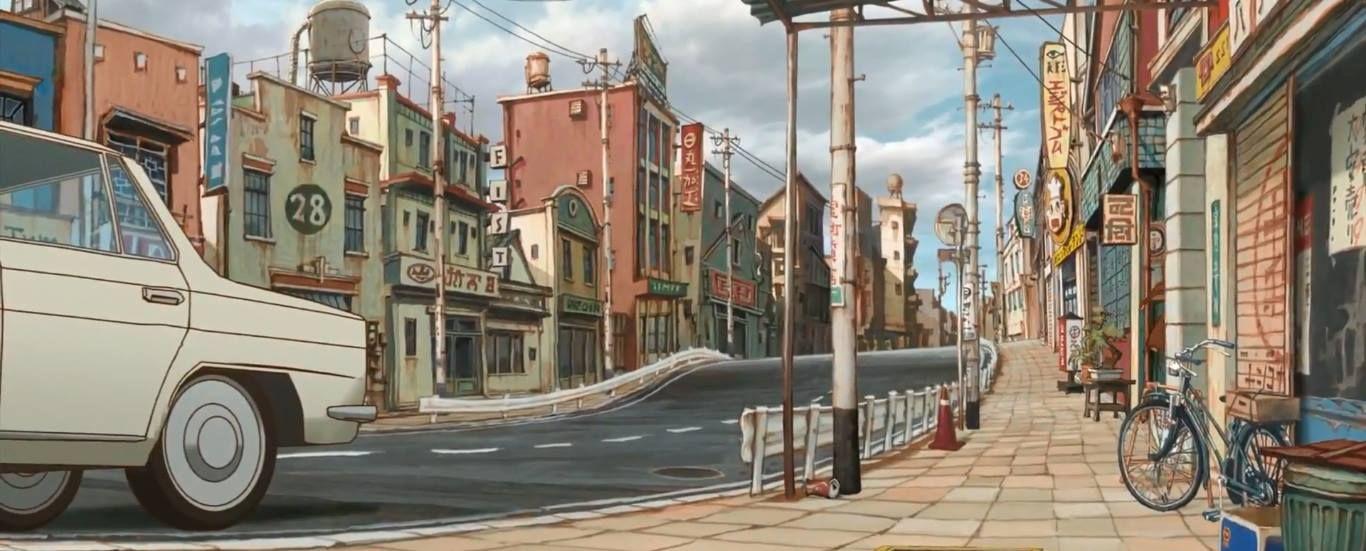 """Tekkonkinkreet"" by Shinji Kimura* • Background Art   © Studio 4°C Animation Studios  • Blog/Website   (www.studio4c.co.jp) • Online Store   (https://www.studio4c.co.jp/top.html)   ★    CHARACTER DESIGN REFERENCES™ (https://www.facebook.com/CharacterDesignReferences & https://www.pinterest.com/characterdesigh) • Love Character Design? Join the #CDChallenge (link→ https://www.facebook.com/groups/CharacterDesignChallenge) Promote your art in a community of over 50.000 artists!    ★"