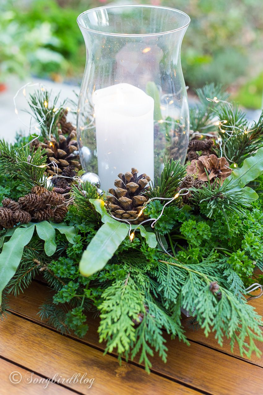 I Learned Form The Best How To Make Fresh Christmas Table Decorations Christmas Centerpieces Christmas Table Decorations Christmas Floral Arrangements