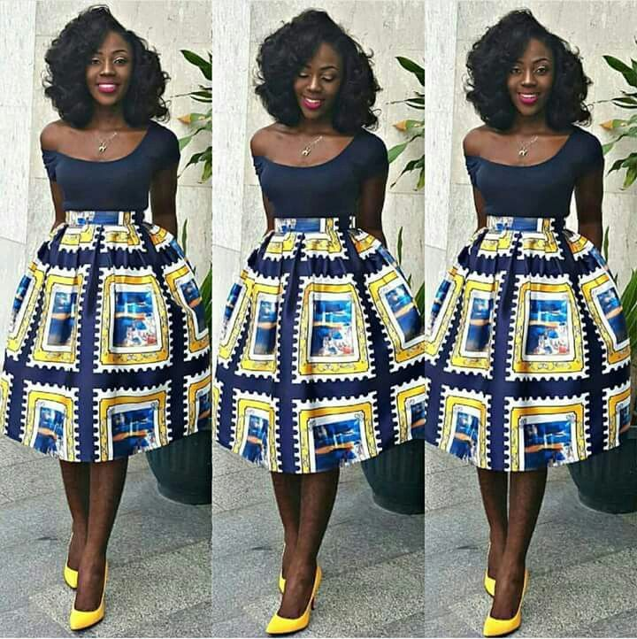 ~African fashion, Ankara, kitenge, African women dresses ... Pictures Of African Skirts And Blouses