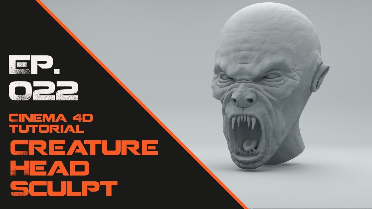 In this Cinema 4D tutorial I will show you how to Sculpt a Creature