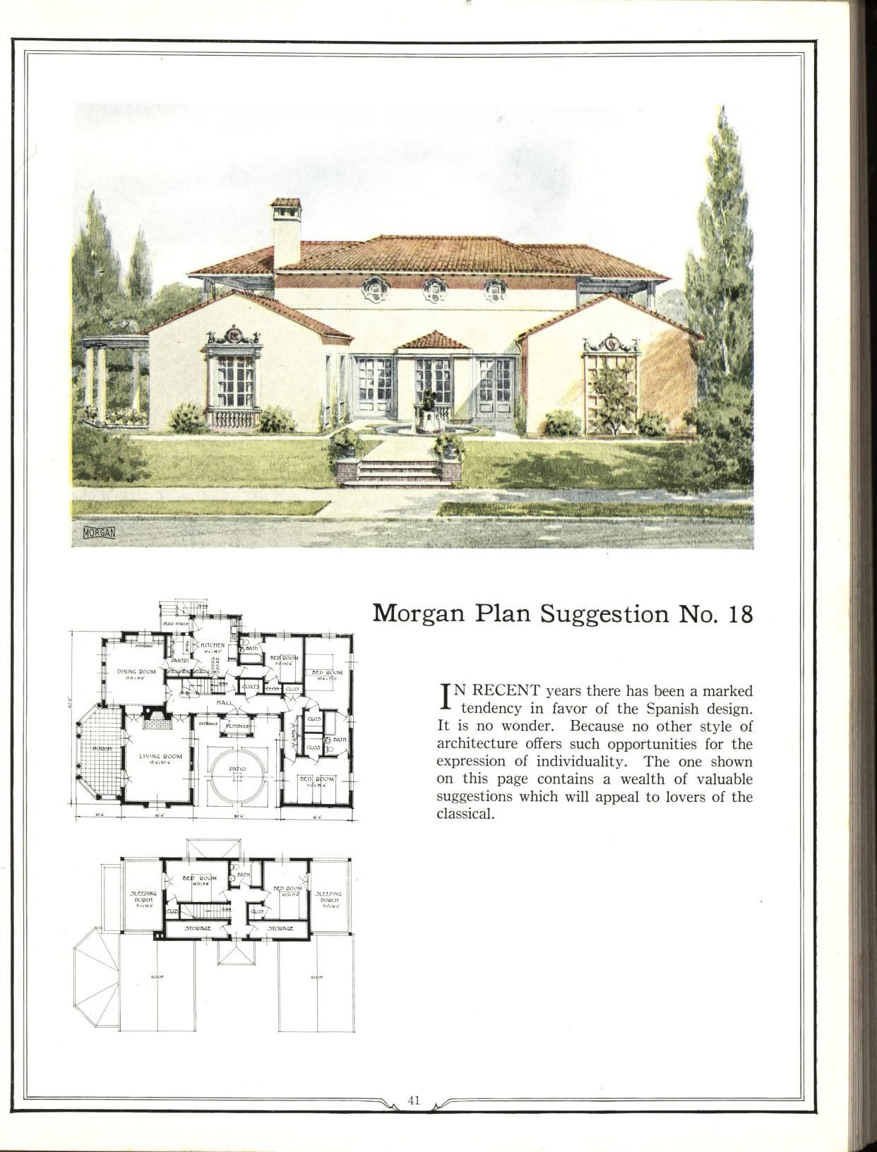 Building With Assurance How To Plan Vintage House Plans Colonial House Plans