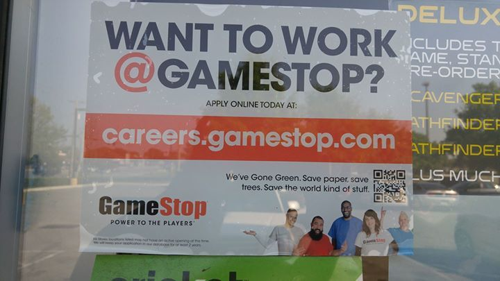 For My Peeps Looking For Work Gamestop By Walmart On Blanding Is Hiring
