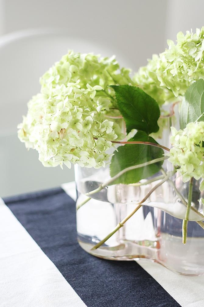 flowers, Aalto vase.