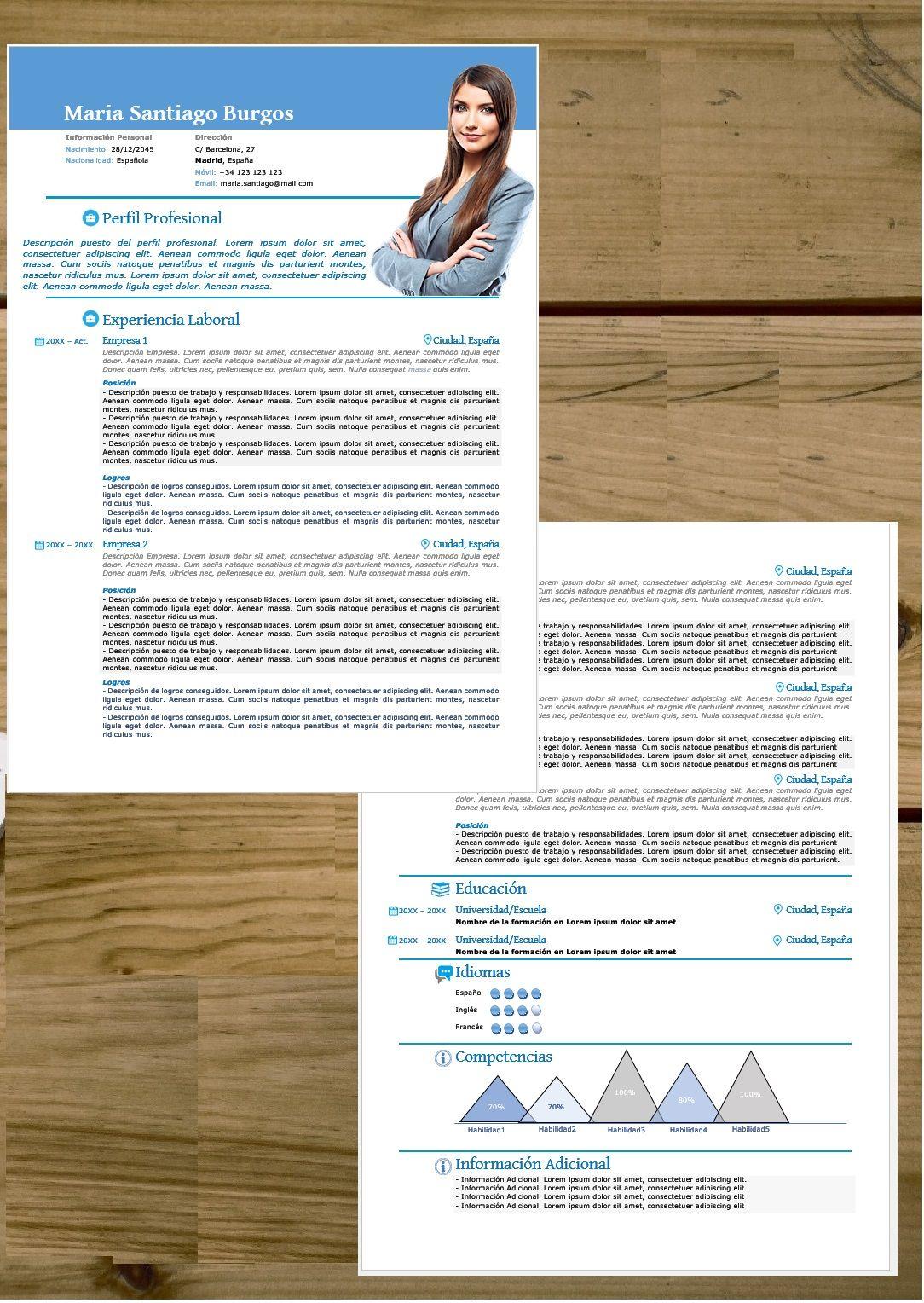 Atractivo Plantilla De Word De Reanudar Controlador Ornamento ...