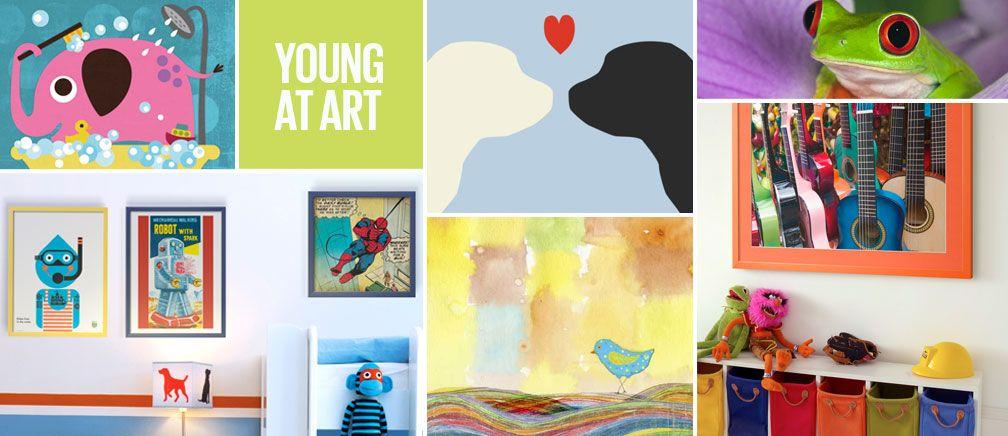 Art.com - Juego de niños por WITTY - una colección de arte