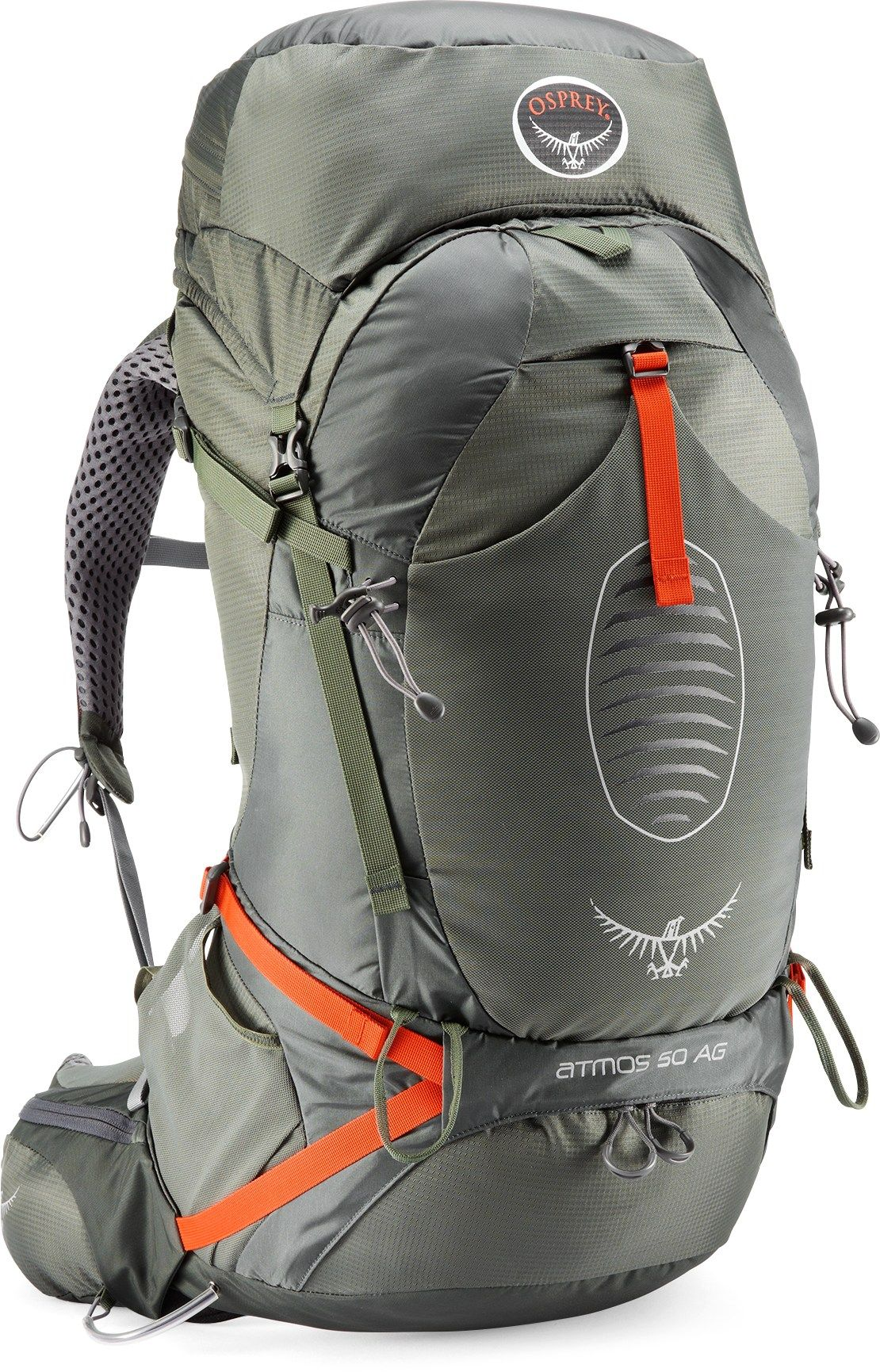 Osprey Men s Atmos 50 AG EX Pack Graphite Grey S