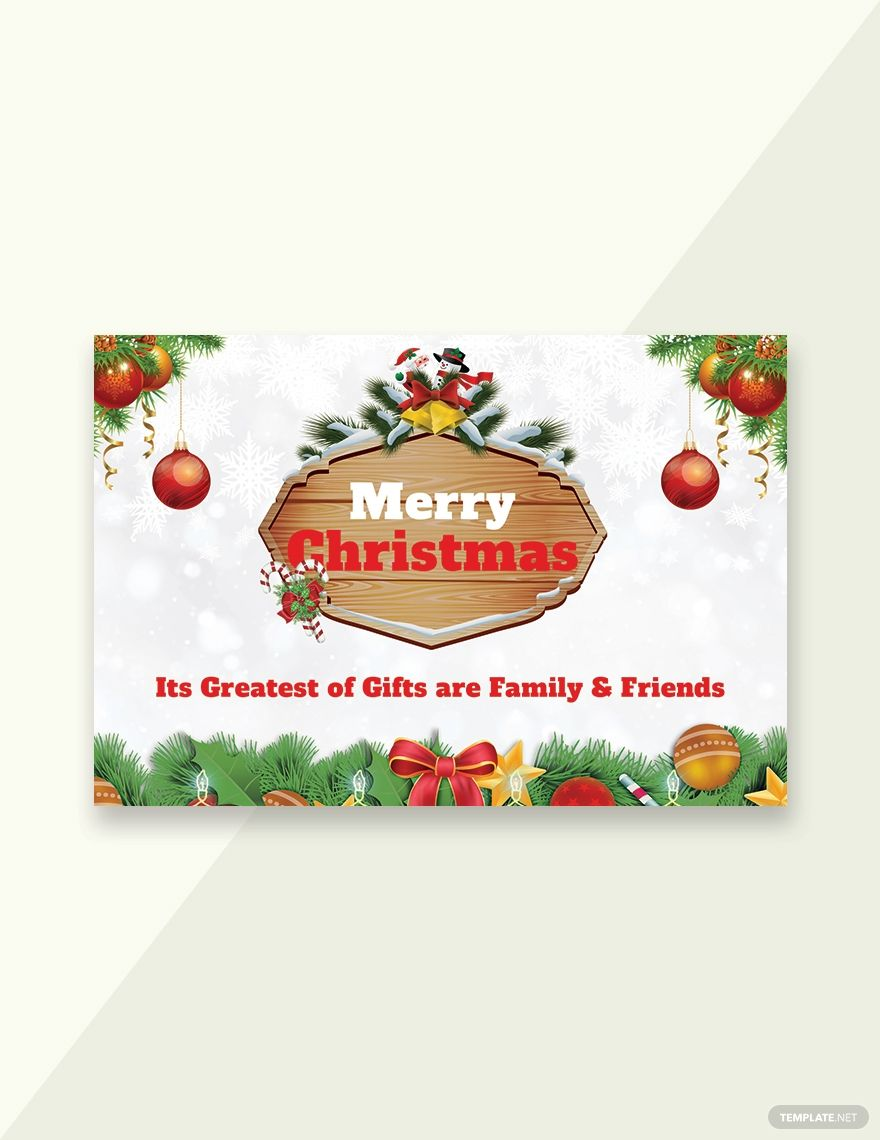 Merry Christmas Greeting Card Template Word Psd Apple Pages Publisher Outlook Merry Christmas Card Greetings Christmas Greeting Card Template Merry Christmas Greetings