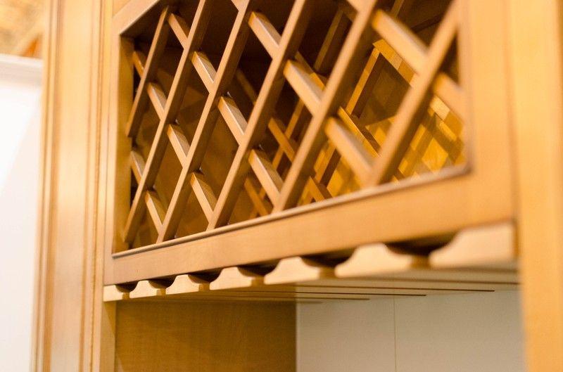 New Windsor Wine Rack with Stem Glass Holder - New Windsor Wine Rack With Stem Glass Holder Kitchen Cabinet