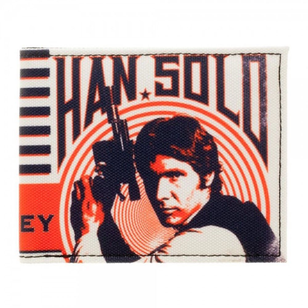 Star Wars The Original Han Solo Tough Guy Bi Fold Wallet #Disney #BiFold
