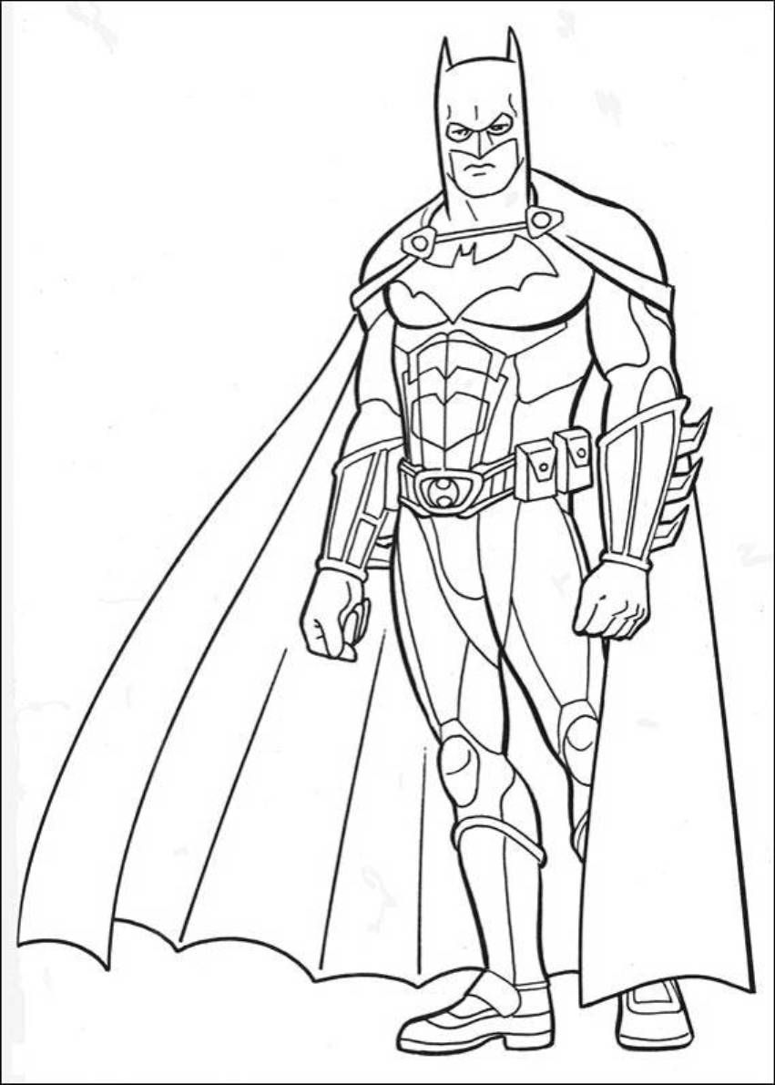 Printable coloring pages batman - Download And Print Batman Dark Knight Rises Coloring Pages