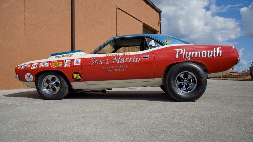 1971 Plymouth Hemi Cuda Pro Stock Sox & Martin, 426 CI, 4