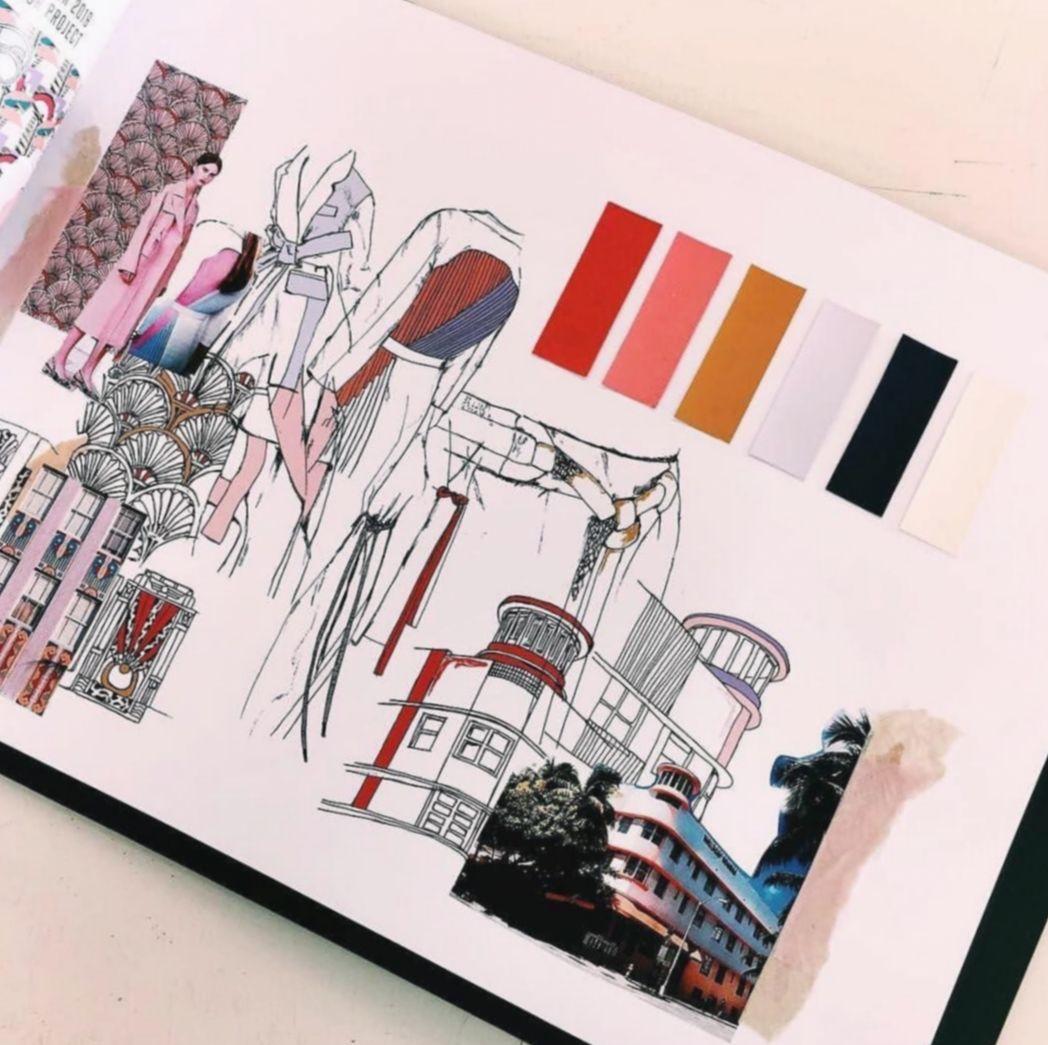 16 Fashion Sketchbook Sketches Design Process