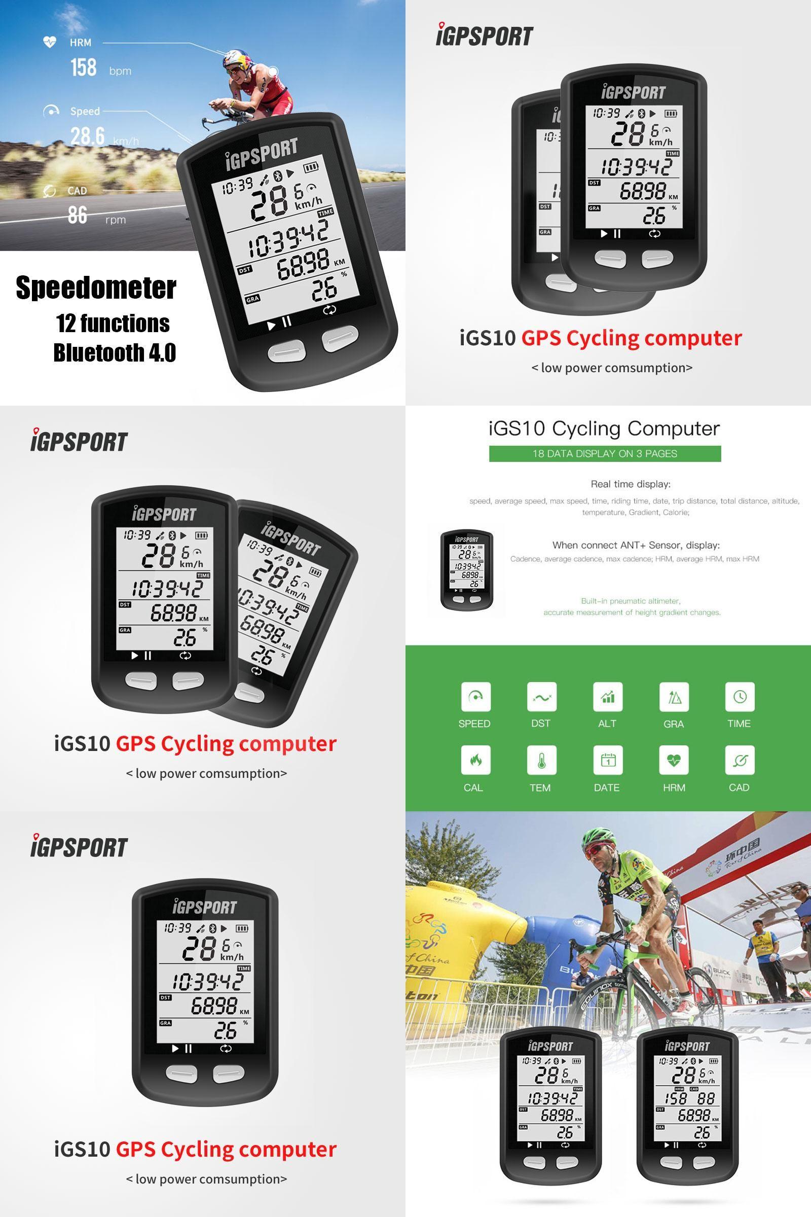 Visit to Buy] igpsport iGS10 GPS Cycling Computer MTB Waterproof ...
