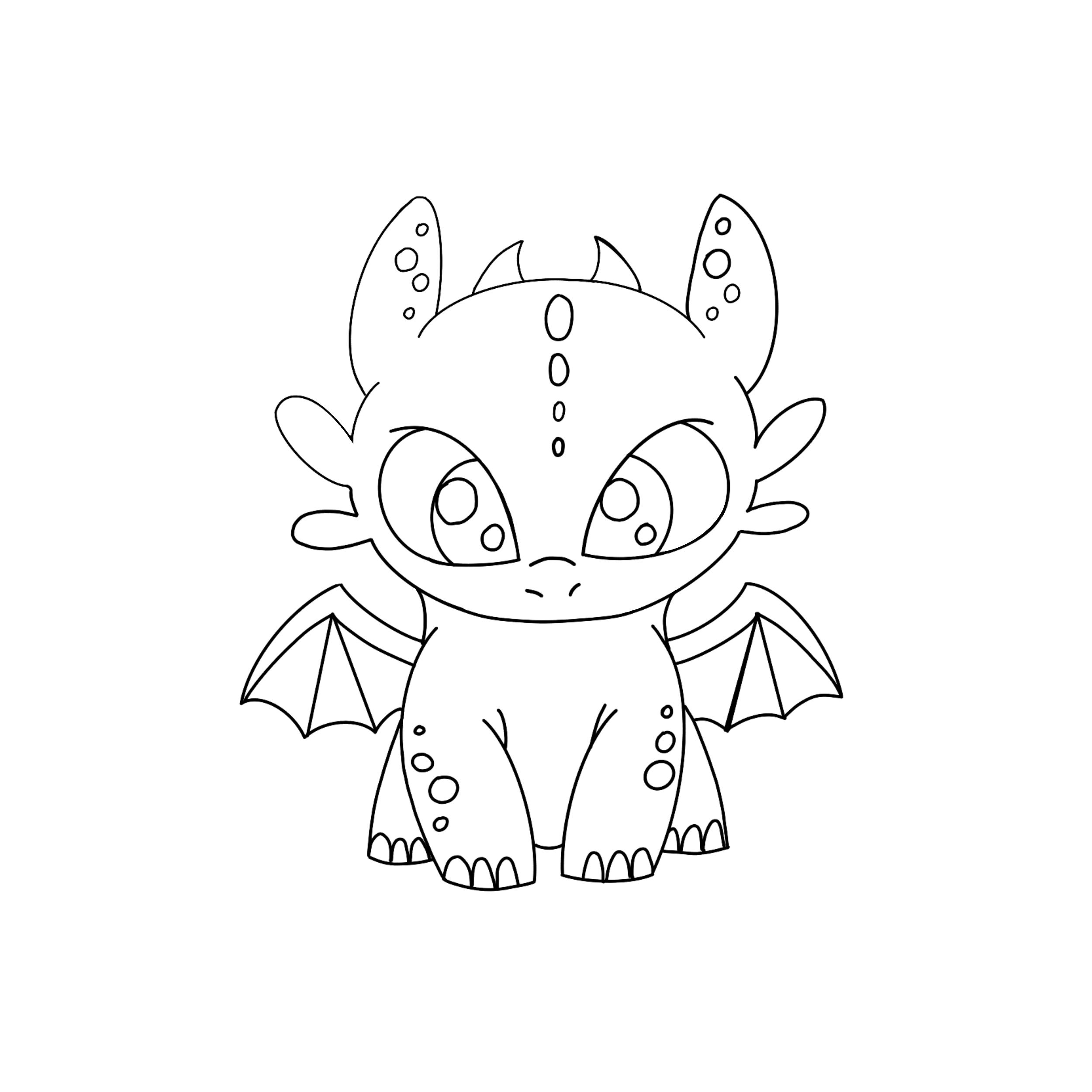 Cute Baby Dragon Coloring Pages For Kids In 2020 Unicorn Coloring Pages Dragon Coloring Page Disney Coloring Pages