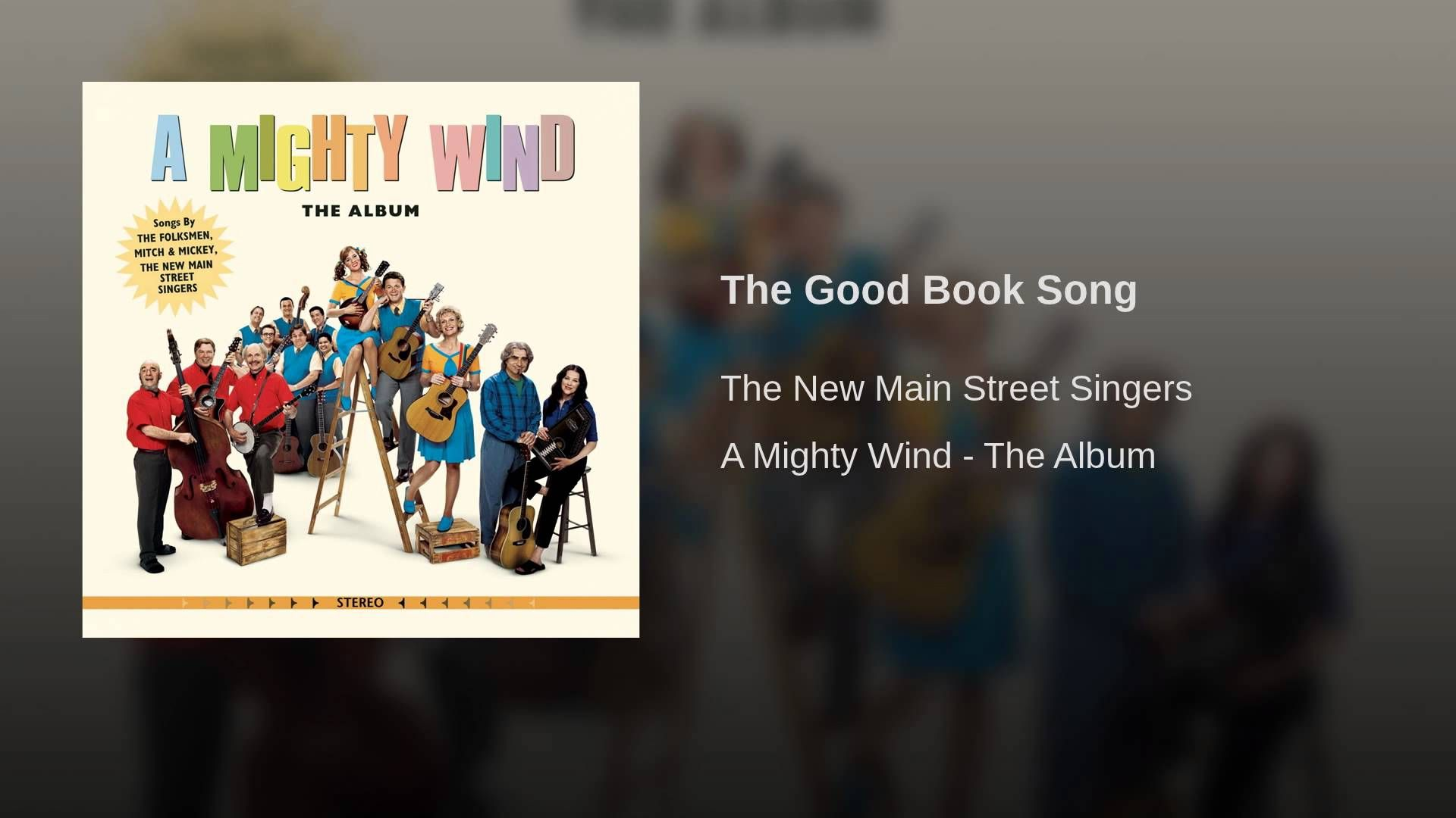 Catman S Choice 6 28 17 The Good Book Song By The New Main Street