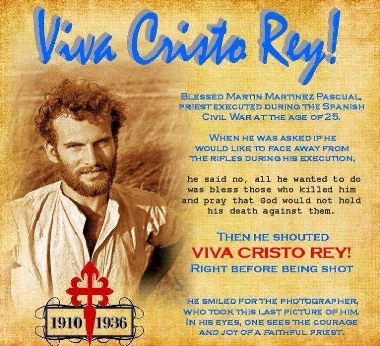 † Viva Cristo Rey! FOTO DEL Cristeros - CRUSADERS del Cuore Immacolato