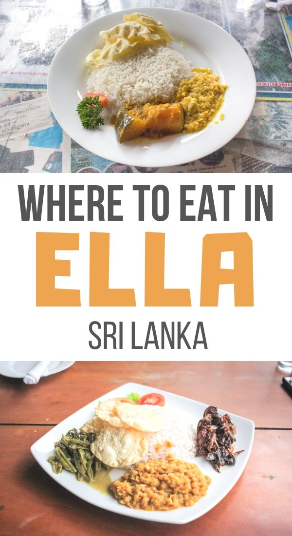 Photo of Where to Eat in Ella, Sri Lanka – Maple & Maps
