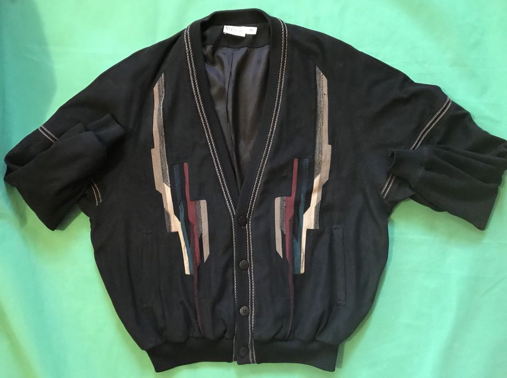 47e823d0f86 Vintage St Croix Button Cardigan Sweater Microfiber Black XL USA |  Clothing, Shoes & Accessories, Men's Clothing, Sweaters | eBay!