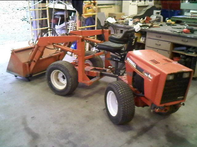 naissance d 39 une 4wd articul tracteur de jardin tractor. Black Bedroom Furniture Sets. Home Design Ideas