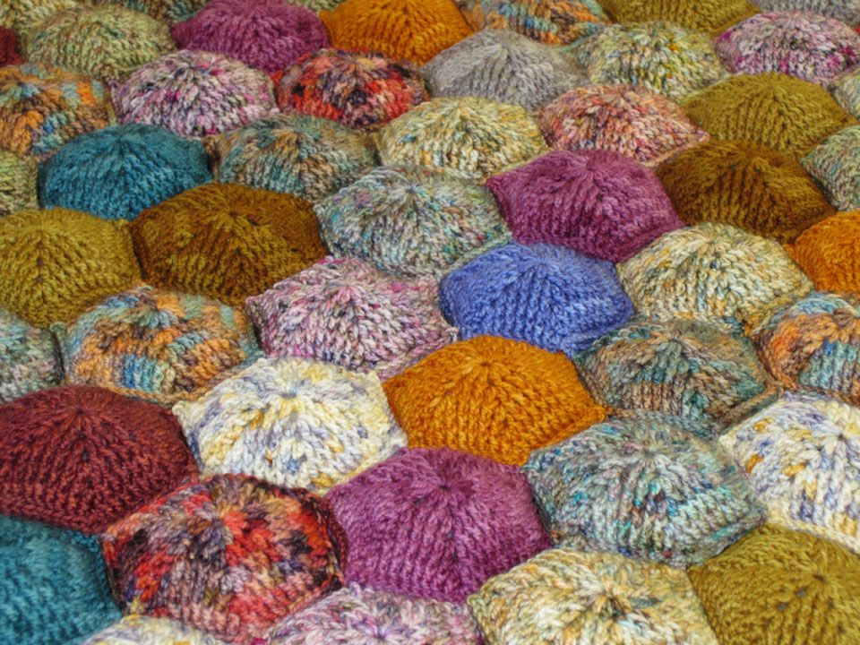 Hexapuff Lap Quilt Yarn Love Pinterest Crochet Quilts And