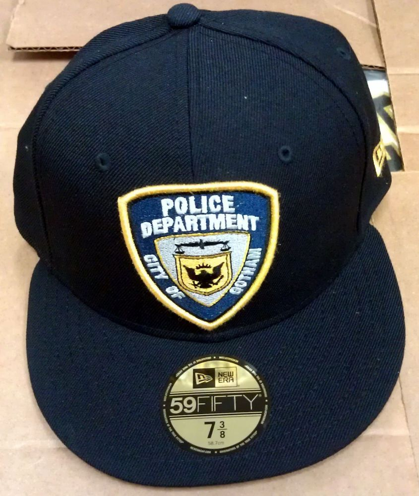 fbd0a5412 NEW/NWT Gotham Police Department New Era Caps - 59/Fifty - Batman DC ...