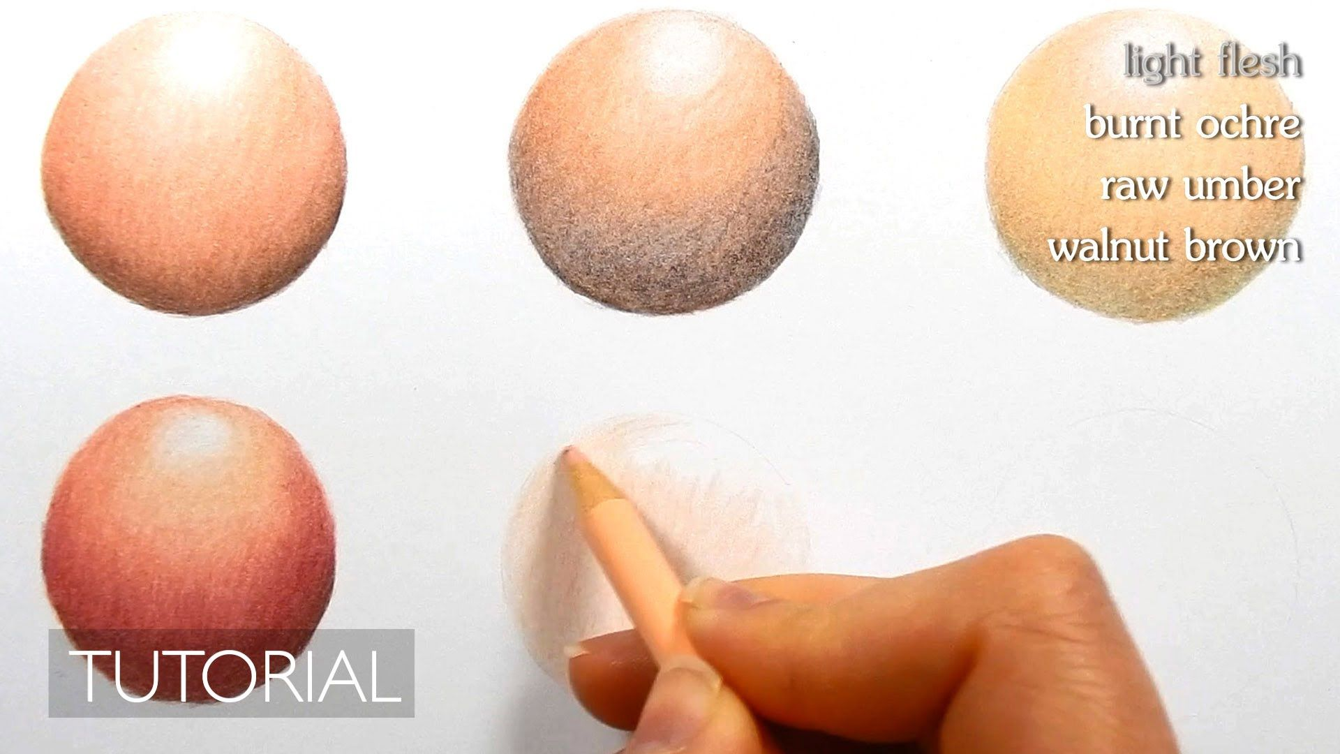 Tutorial | How to color different skin tones with colored pencils ...