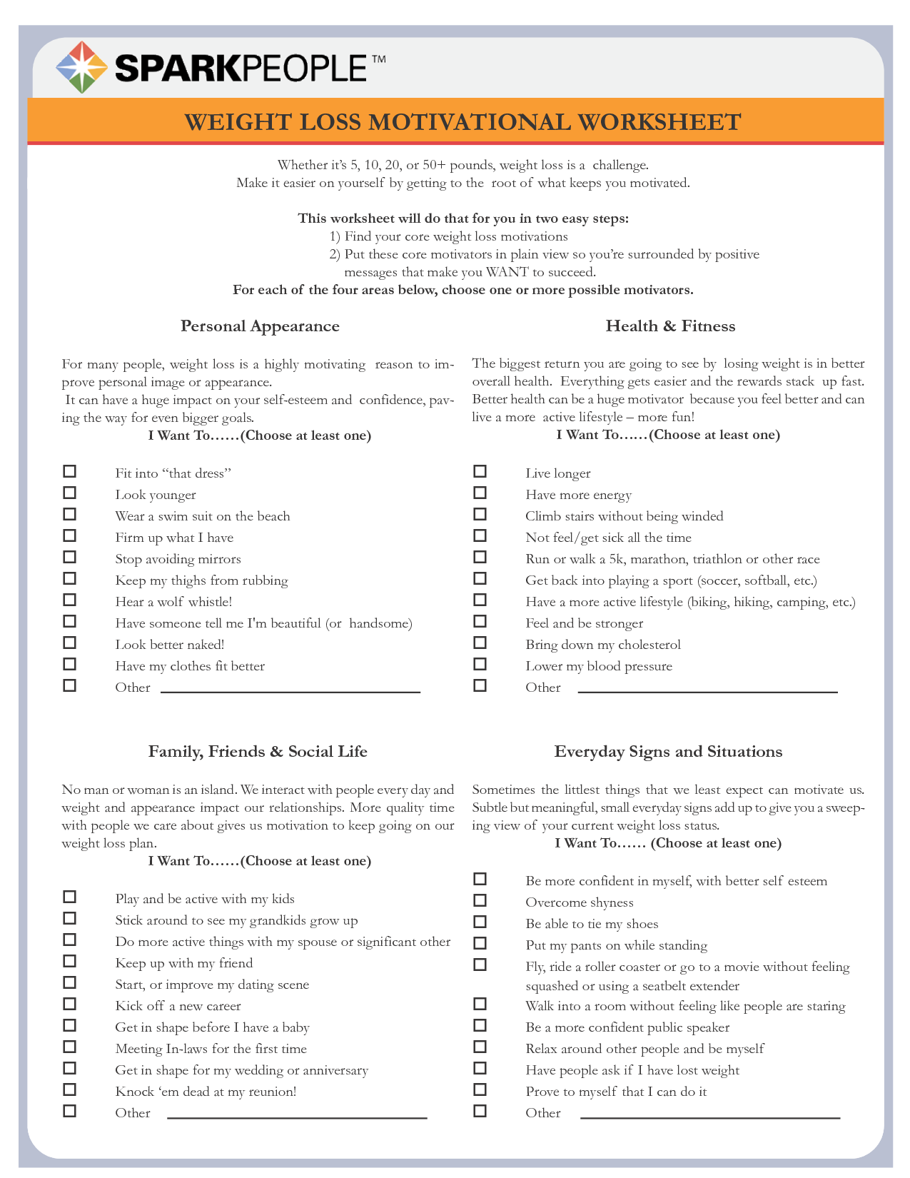 worksheet Motivation Worksheets pin by angela maria on healthfitness pinterest weight loss motivation