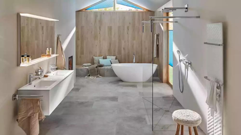 Lagom Im Badezimmer So Chic Kann Ein Schweden Bad Sein In 2020 Badezimmer Baden Eingebaute Badewanne