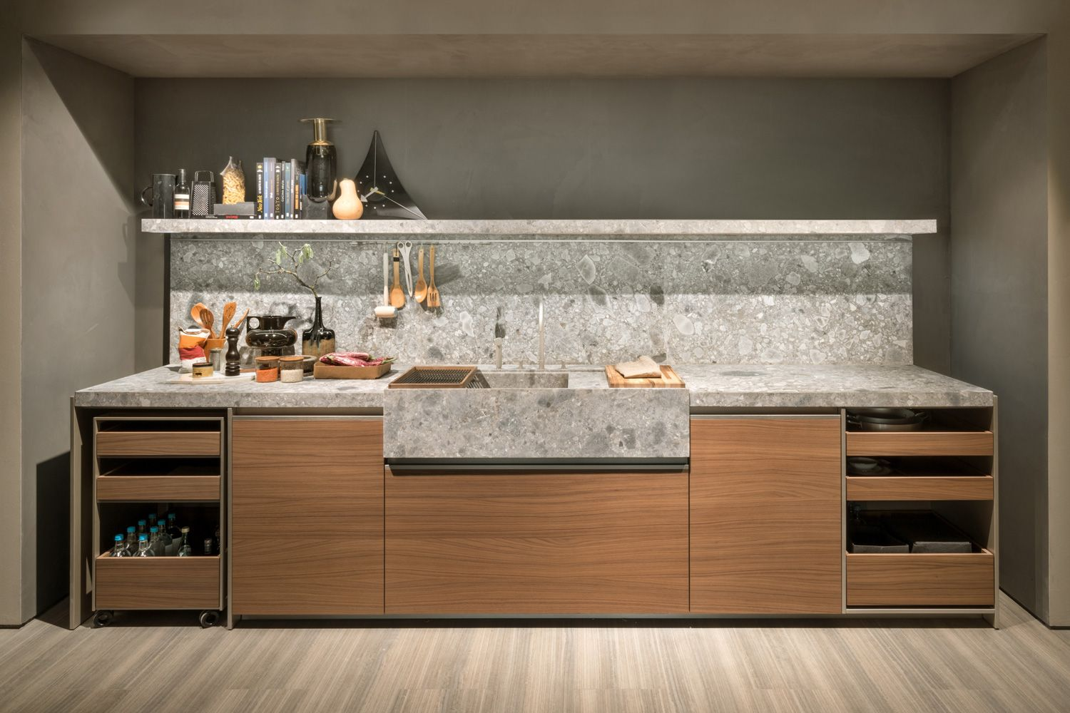 Appliances As Art And Other Kitchen Trends From Eurocucina 2016  # Muebles Y Cocinas Daxa