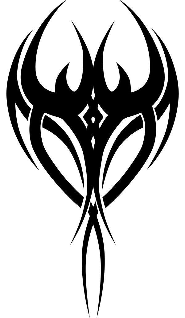 Tribal bull tattoo design | Ink'd | Pinterest | Tribal designs ...
