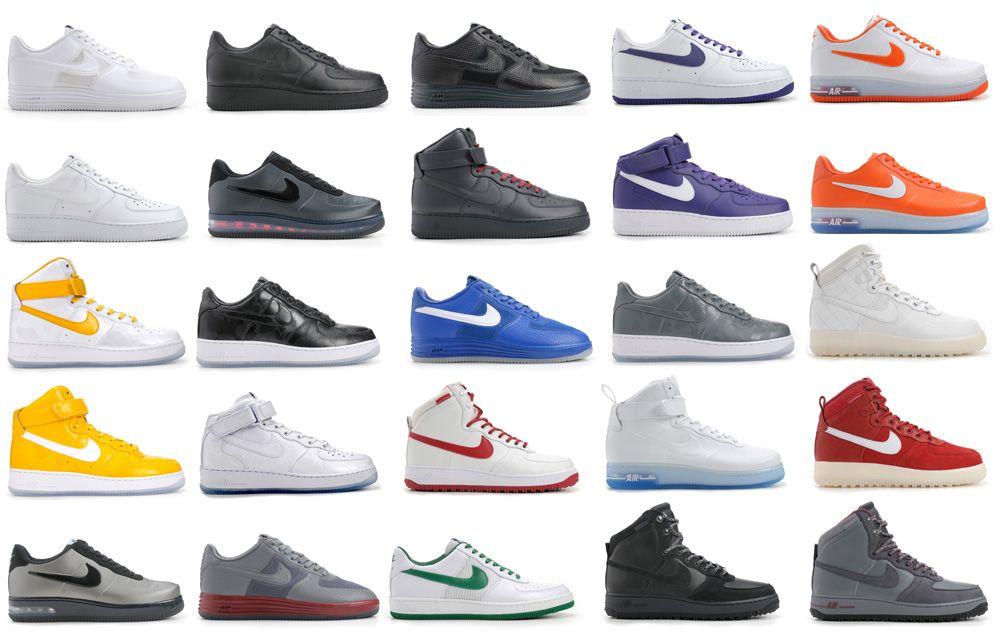 Sneaker magazine, Nike air force