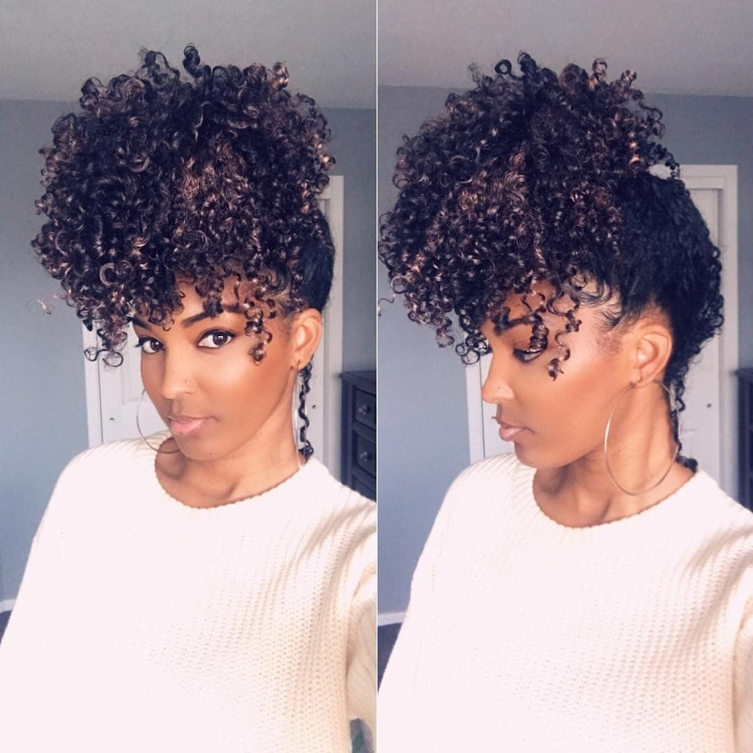 Pin By Melanated Rose On Naturally Beautiful Natural Hair Styles Pineapple Hairstyle Hair Beauty