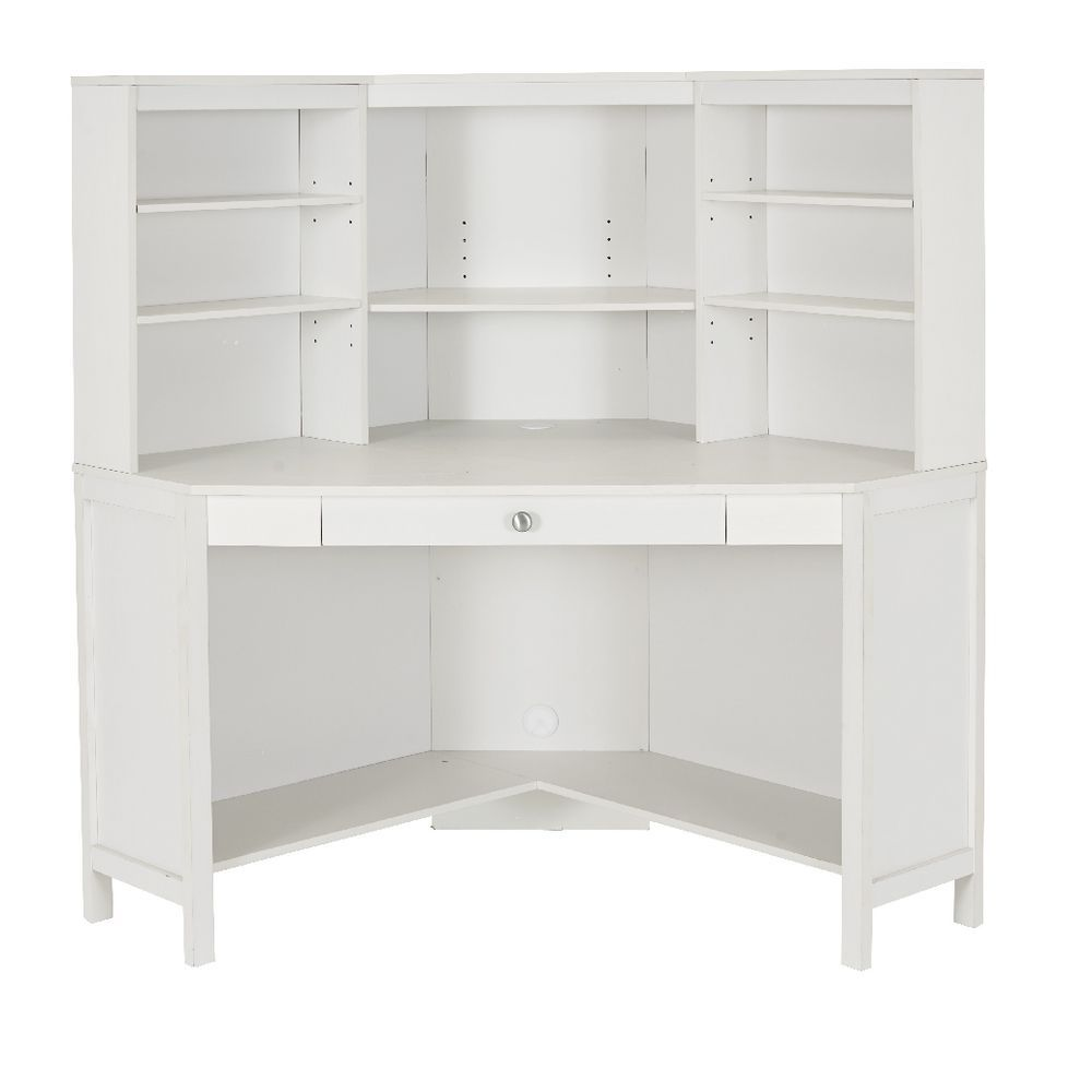 White Corner Desk Hutch - American Freight Living Room Set Check ...