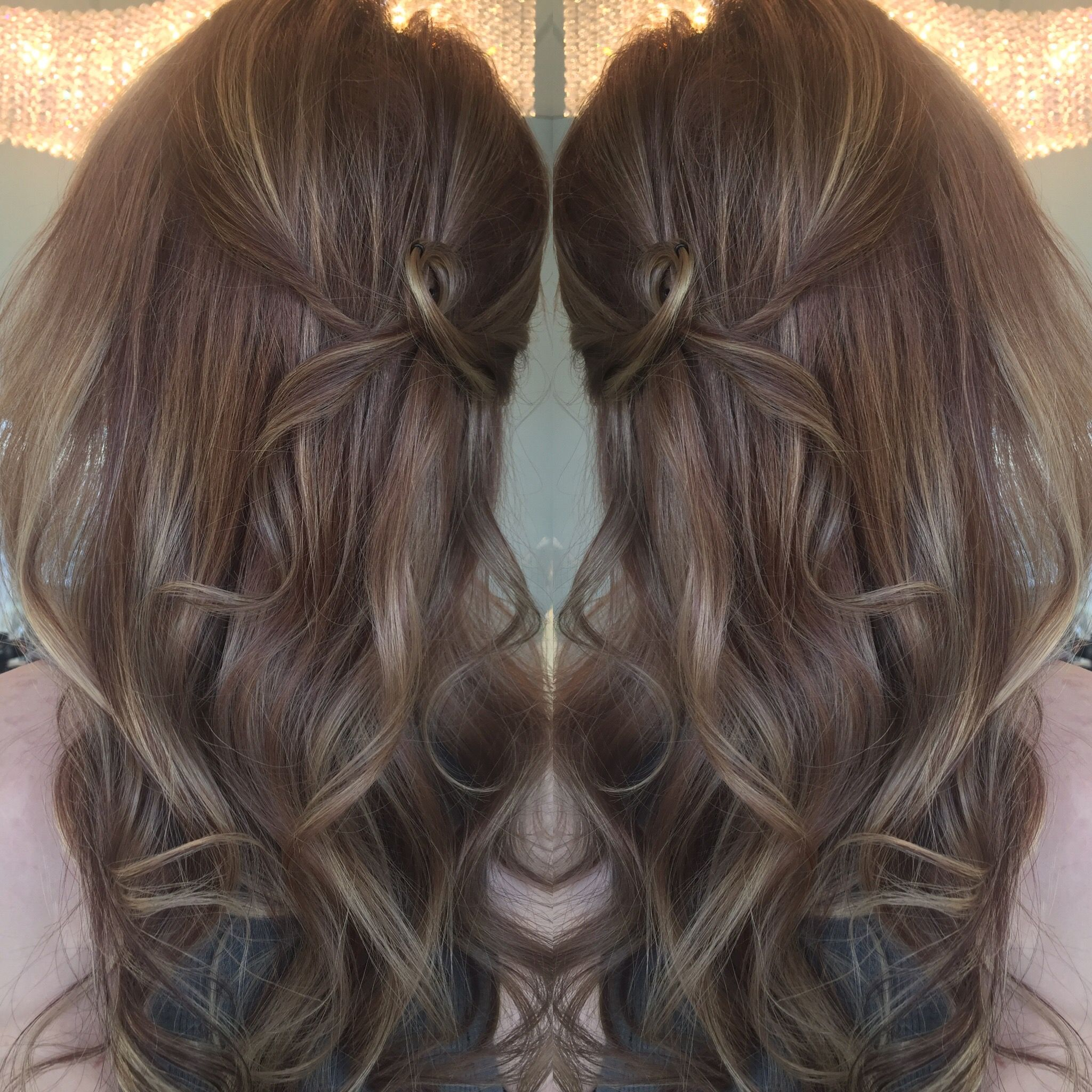 Ashy Brown Color With Lowlights And Highlights Brown Hair With Lowlights Low Lights Hair Brunette Hair Color