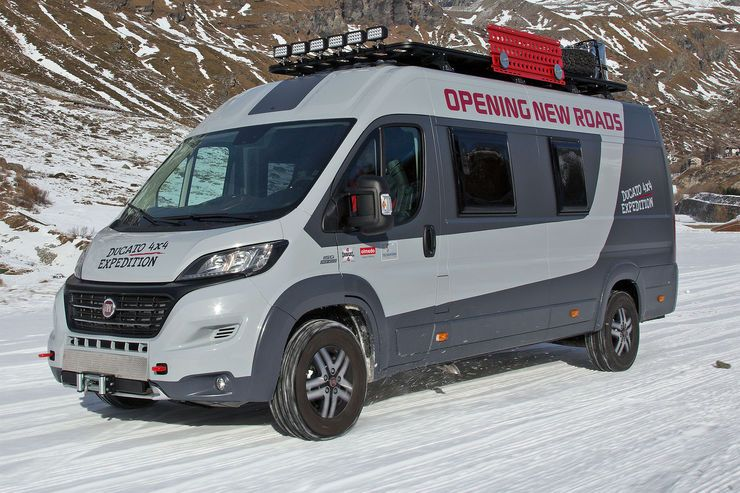 fiat ducato 4x4 expedition konzept wohnmobil extrem. Black Bedroom Furniture Sets. Home Design Ideas