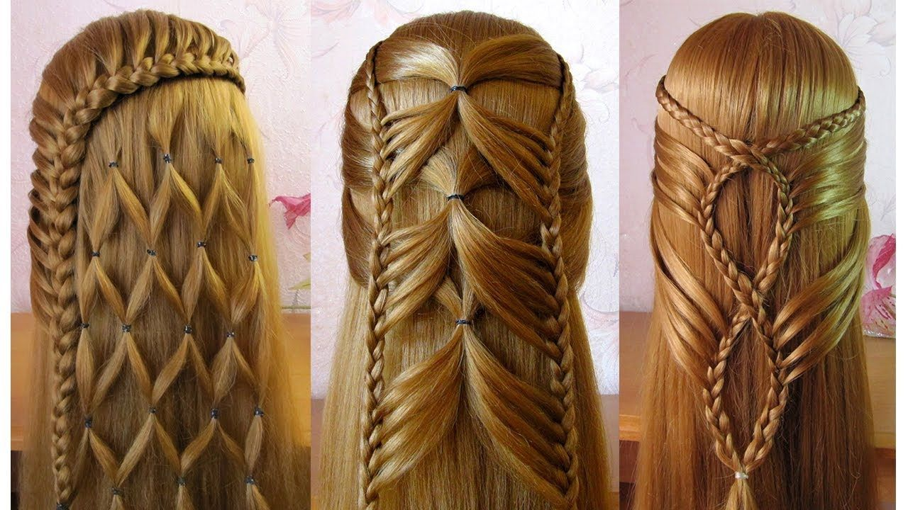 10++ Video coiffure facile cheveux long inspiration
