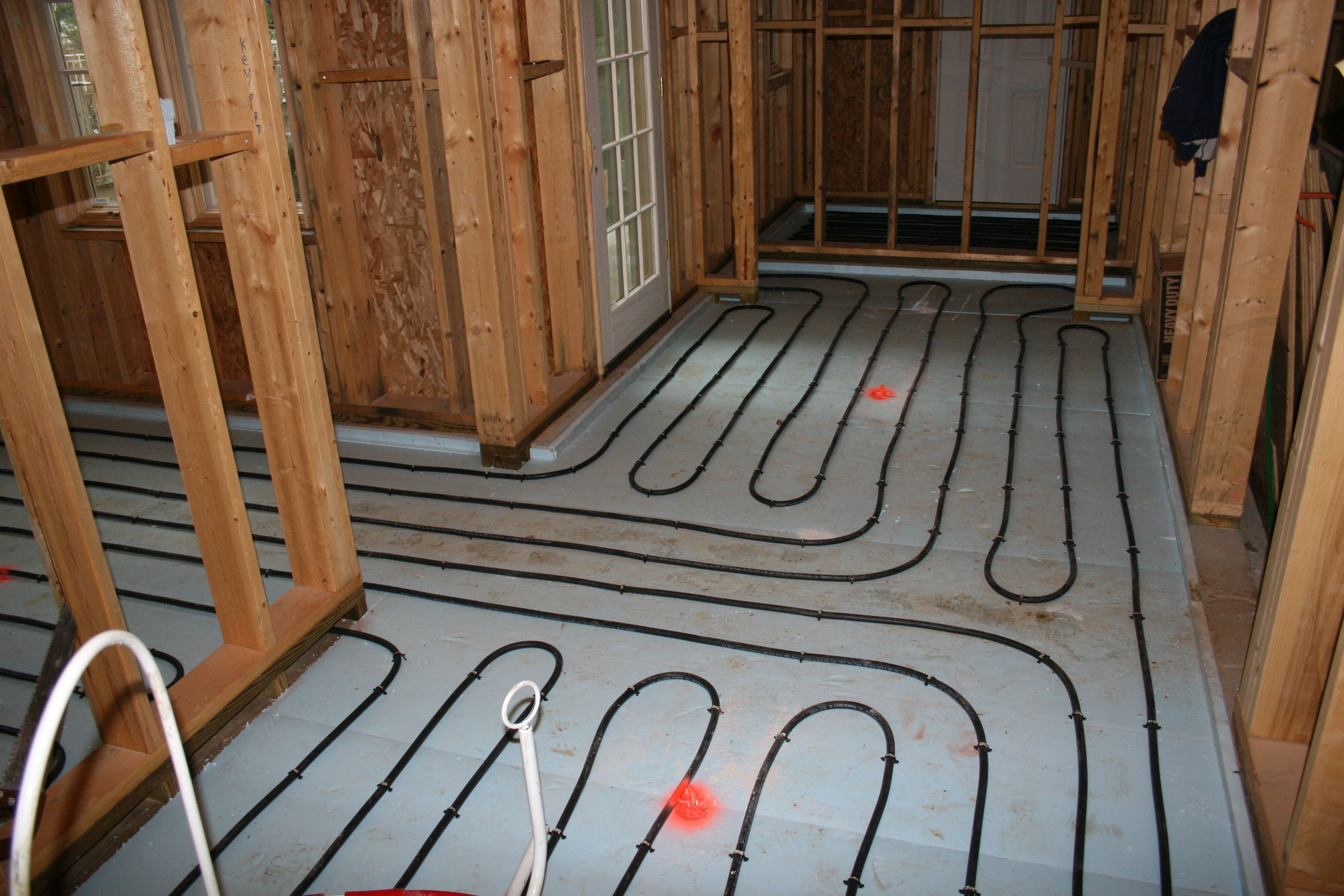 Heated Tile Floor On Concrete Slab