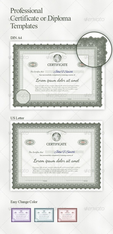 Certificate Template Certificate Template And Google Fonts