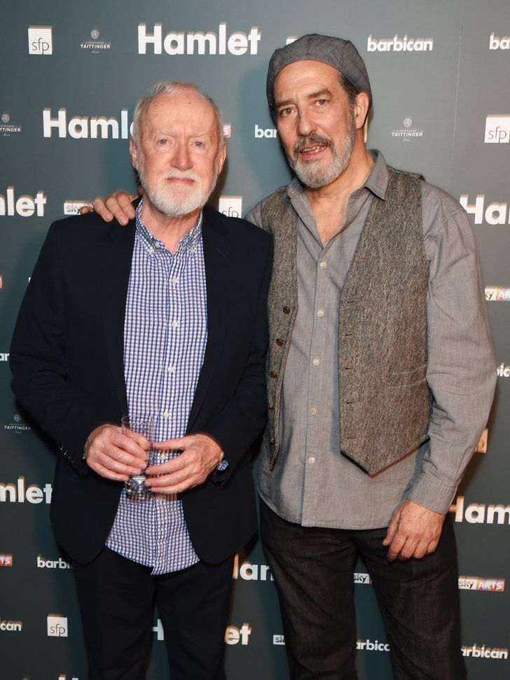 Pin for Later: Celebrity Friends Support Benedict Cumberbatch at the Hamlet Press Night Jim Norton and Ciaran Hinds